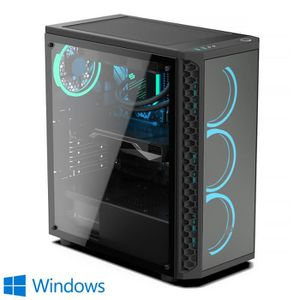 UNITÉ CENTRALE  PC Gamer, AMD Ryzen 7, RX 5700, 1 To SSD, 3 To HDD