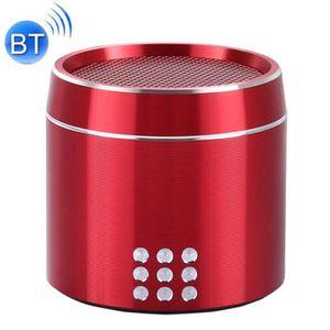 ENCEINTE NOMADE Mini enceinte Bluetooth rouge pour iPhone, Samsung