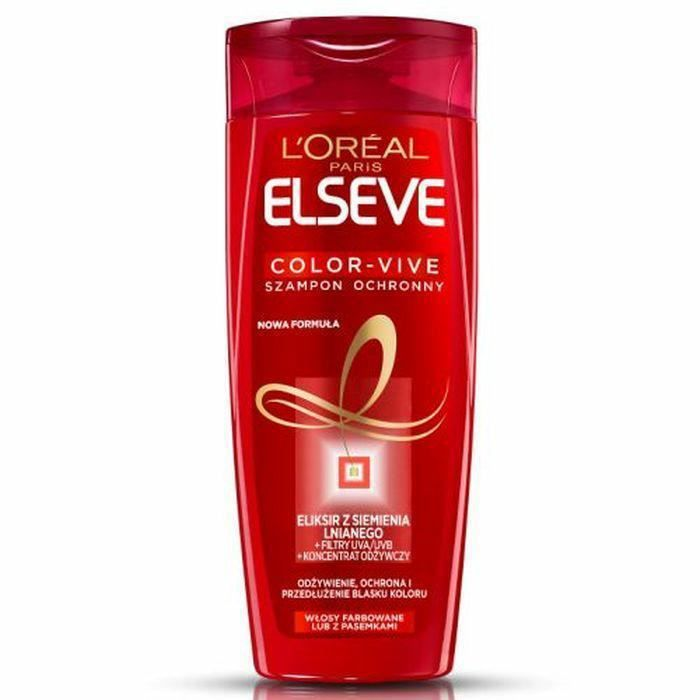Shampooing Capillaire 400ml Loreal Elseve Vivid Colors