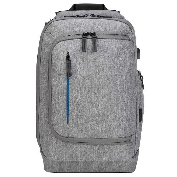 """Sacs à dos pour ordinateur portable Targus TSB939GL Sac à dos convertible CityLite Pro Premium 15,6"""" - Gris 43011"""