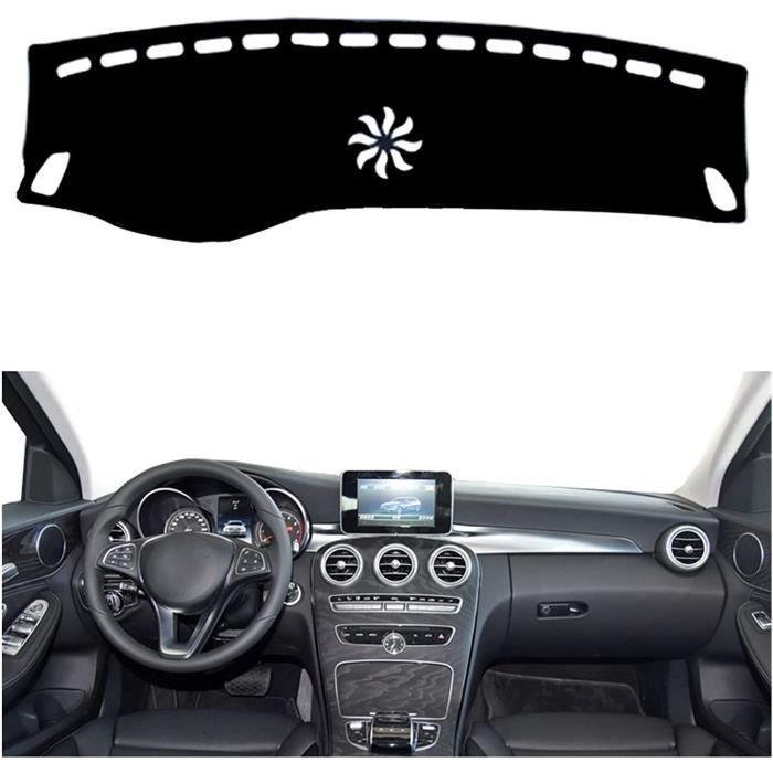 Couverture Dash Tapis Tapis De Tableau De Bord De Couverture De Tableau De Bord Intérieur De Voiture Pour Benz Classe C W205 2015 20