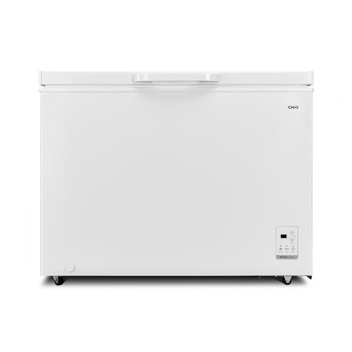 CHiQ congélateur FCF292D, 292litres, blanche, faible consommation A+, 40db, 12 ans de garantie sur le compresseur