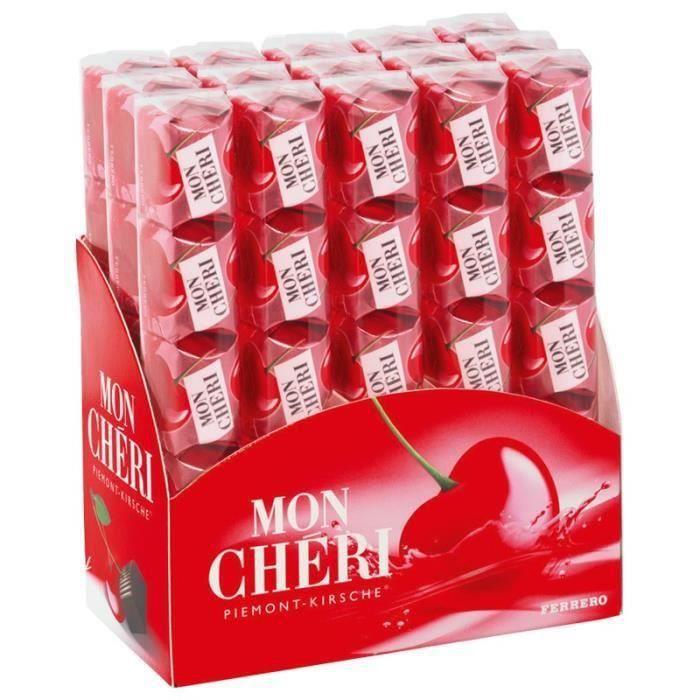 Ferrero Mon Chéri, 15 barres de chocolat