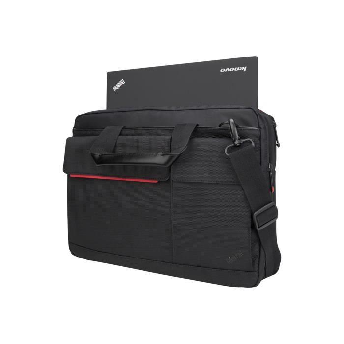 LENOVO Sacoche de transport Professional - Pour Ordinateur Portable 39,6 cm (15,6-) - Résistant à l'usure - Noir