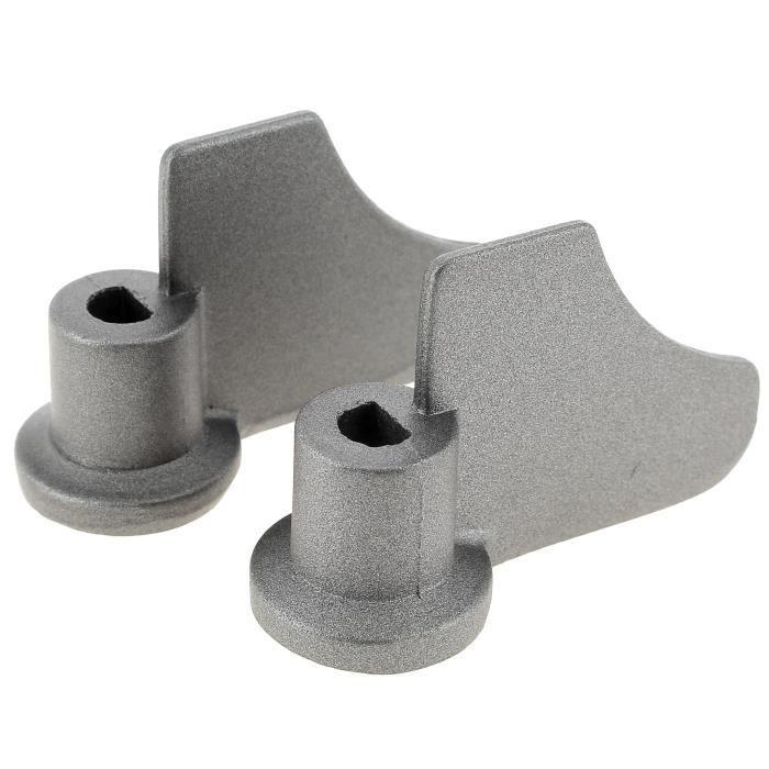 Petrisseurs axe 1 meplat d=8mm par 2 pour Machine a pain Moulinex - 3665392111191