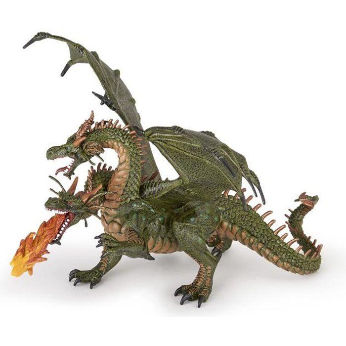 PAPO Figurine Dragon deux têtes Pour Enfant