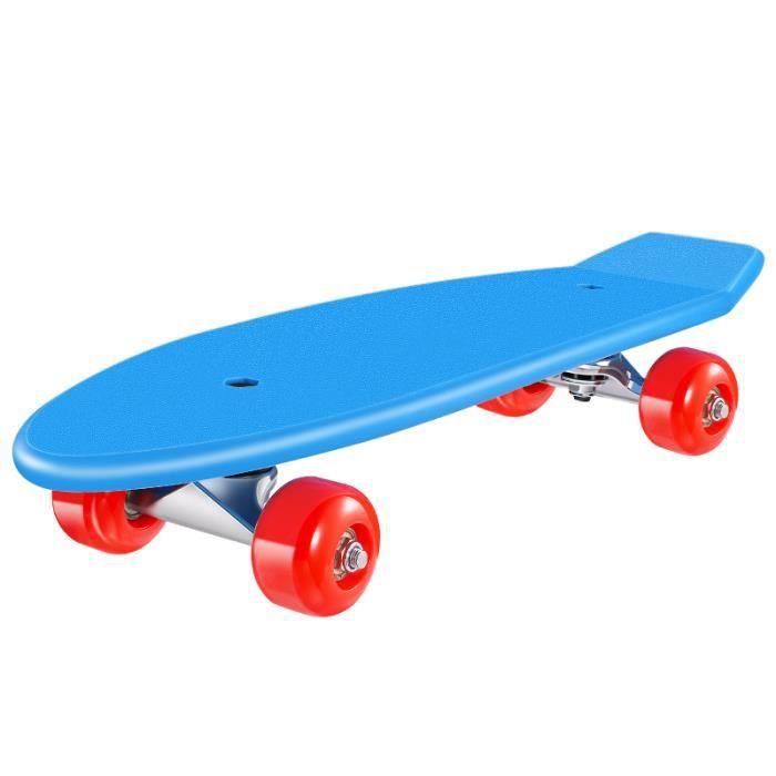 MOVTOTOP Kids Skateboard Kit Complet Downhill Longboard avec engrenages de protection SKATEBOARD - SHORTBOARD - LONGBOARD - PACK
