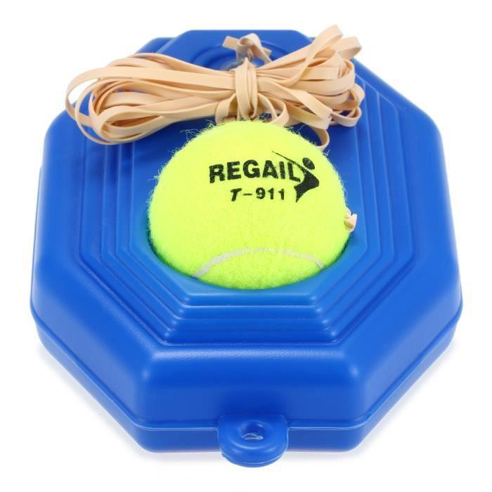 Outil de formation de pratique d'entraînement de tennis Exercice de plinthe de rebond d'exercice avec la ficelle