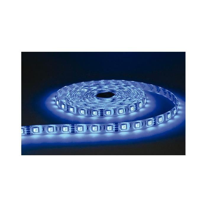 BANDE LED Silicone COULEURS IP67 5 M 30 LEDS …