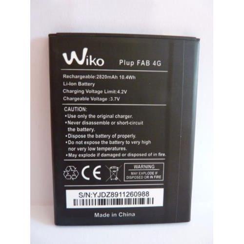 Originale Batterie Wiko Pulp FAB 4G