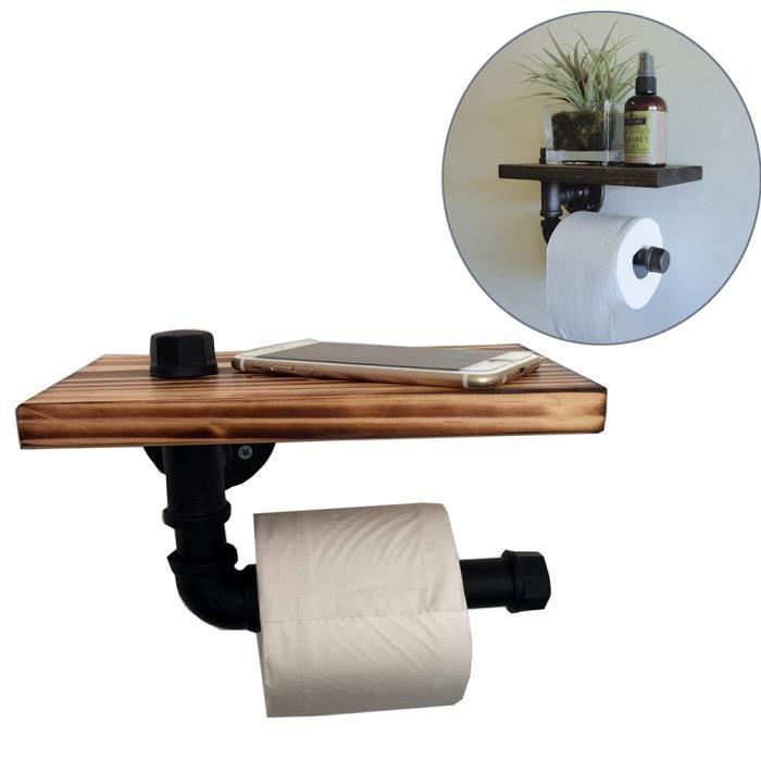 Fabriqués à Partir De Support Libre Vintage Porte Rouleau Papier Toilette