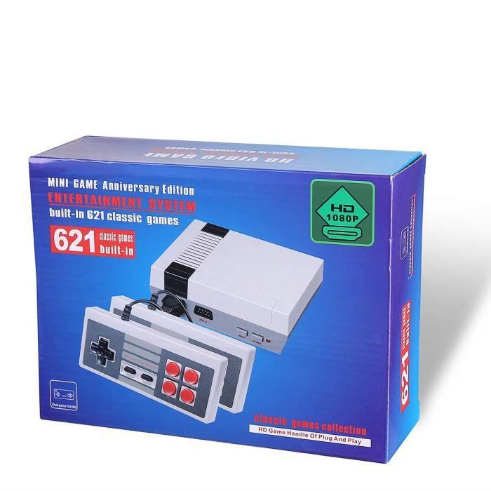 JEU CONSOLE RÉTRO Famille Retro Mini Classic Console- Précharge 621