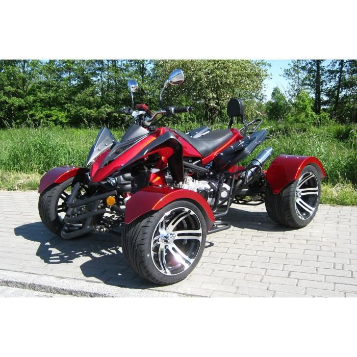 speedstar 300cc quad atv automatique homologu e pour 2 personnes rouge achat vente quad. Black Bedroom Furniture Sets. Home Design Ideas