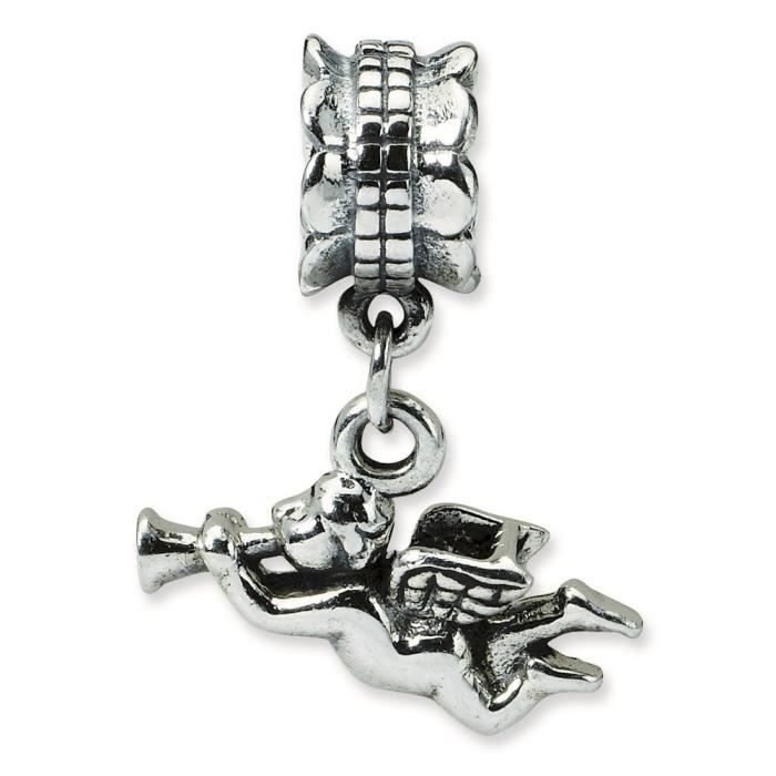 Argent Sterling réflexions SimStars Angel Pendentif Charm perle