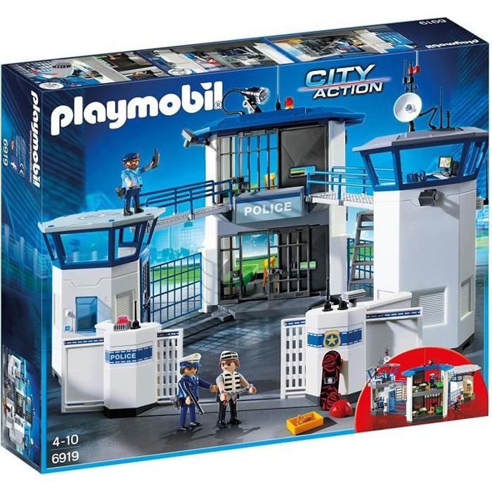 Photo de playmobil-6919-city-action-commissariat-de-police