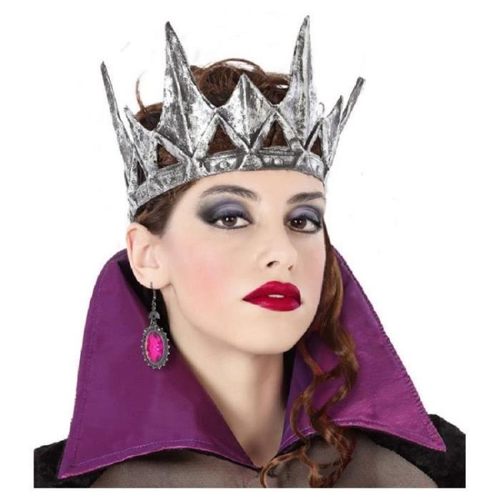 Mini COURONNE Reine Médiévale Déguisement Femme Fille Reine de Coeur