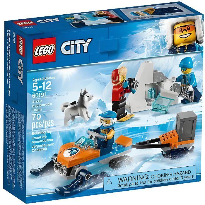 60191 Les explorateurs de lArctique Jeu de Construction LEGO City