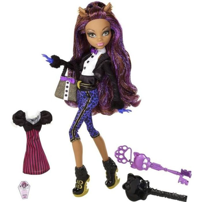 monster high tenue de soir e clawdeen wolf achat vente poup e cdiscount. Black Bedroom Furniture Sets. Home Design Ideas