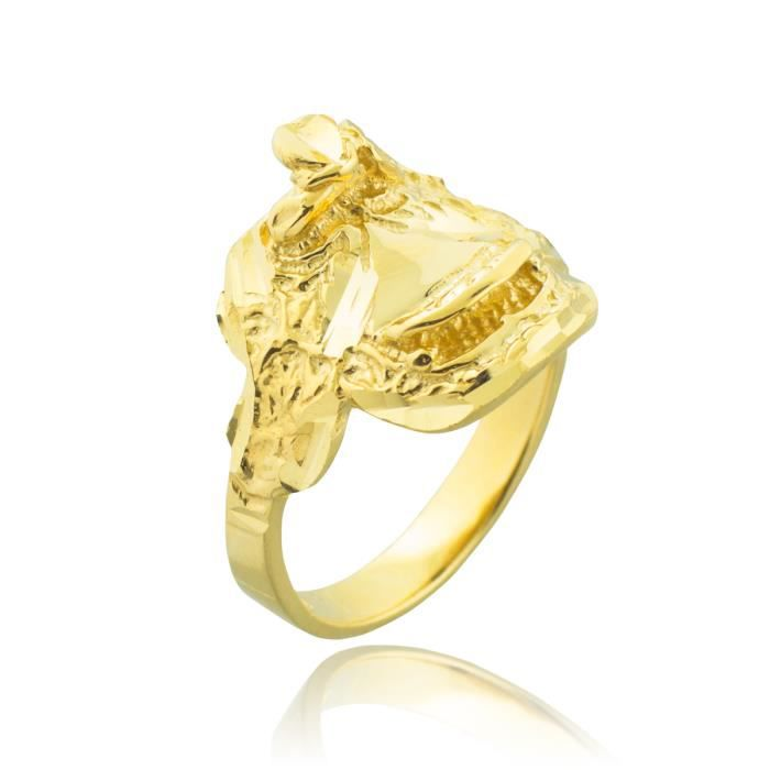 Bague Femme 10 ct Or 471/1000 Selle Cheval