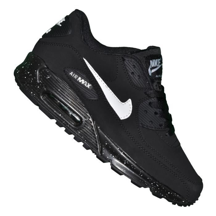 info for wide range wide varieties Nike -- Basket - Homme - Air Max 90 Essential 110 - Noir Blanc ...