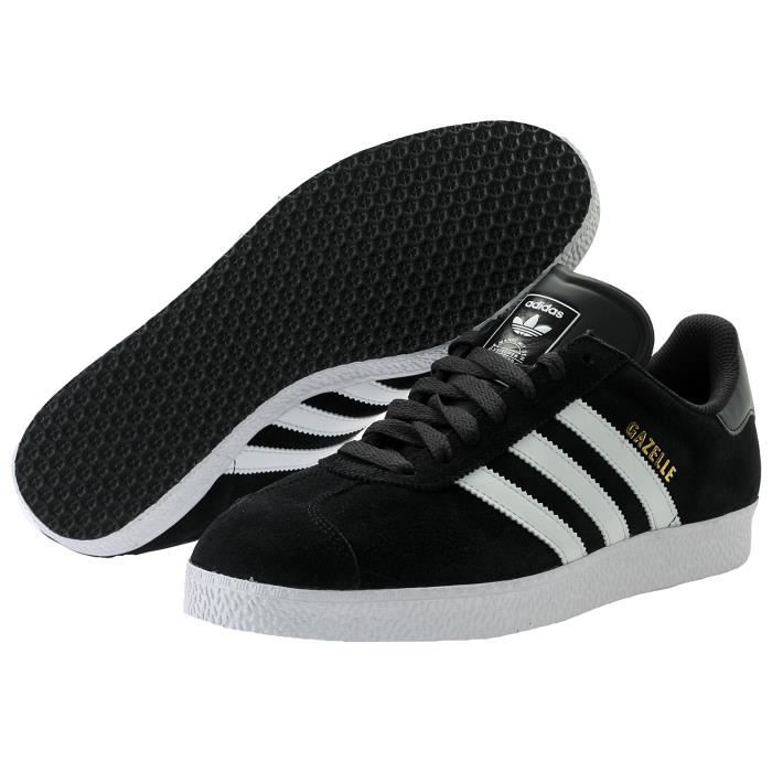 stable quality picked up official supplier Baskets Adidas Originals Gazelle 2 noir avec les 3 bandes ...