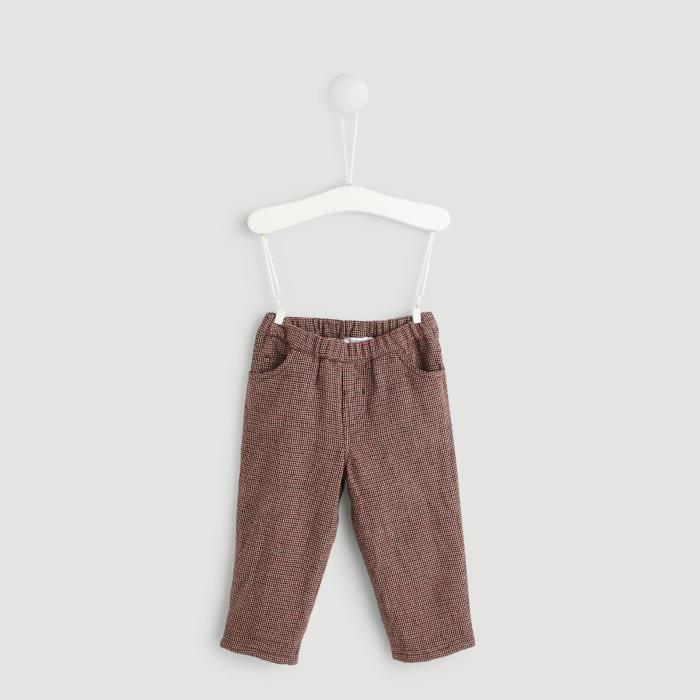 PANTALON Pantalon fantaisie doublé en coton