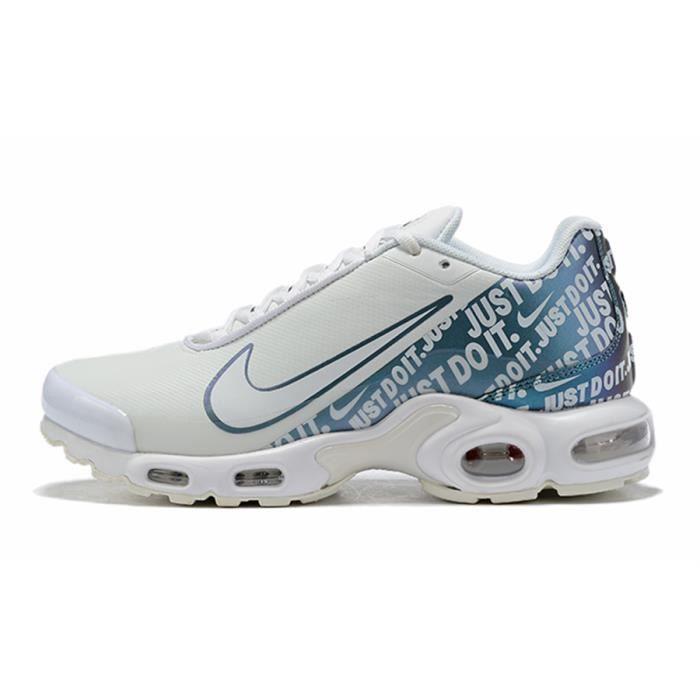 Nike Air Max Plus TN SE Blanc Bleu Chaussures De Course. Blanc ...
