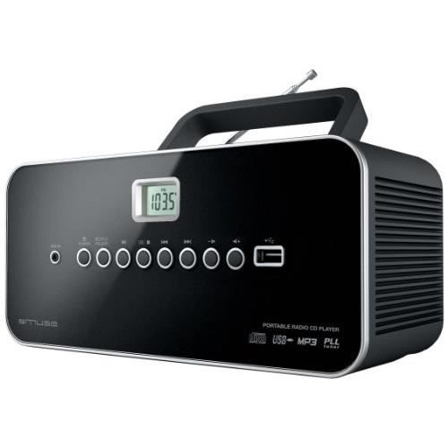 muse m 28 rd radio avec lecteur de cd mp3 usb p radio. Black Bedroom Furniture Sets. Home Design Ideas