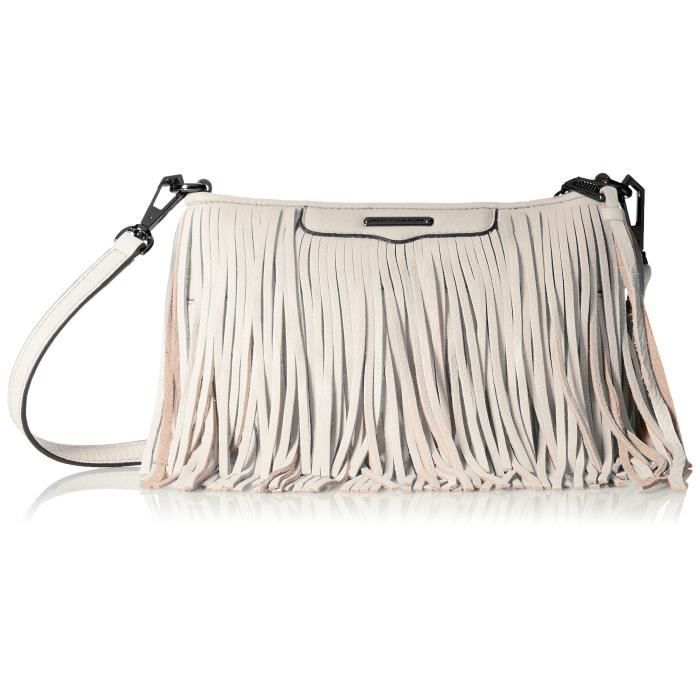 Rebecca Minkoff Finn Cross Body, Putty, Taille WABST
