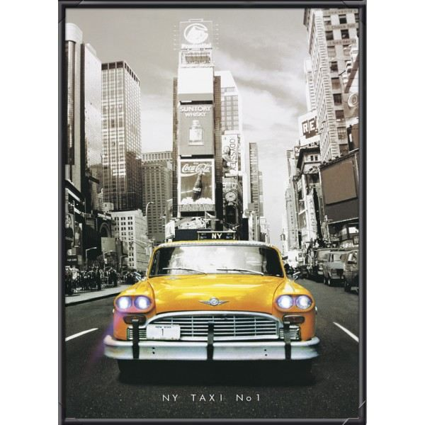 Tableau led taxis nyc achat vente tableau toile soldes d t cdiscount - Tableau ikea new york ...