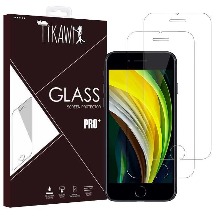 FILM PROTECT. TÉLÉPHONE Tikawi x2 Verre trempé 9H Iphone 7 / 8 Protection