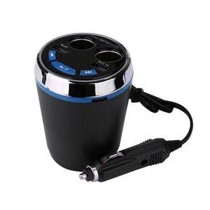 CHARGEUR CD VOITURE LED Bluetooth voiture allume-cigare Kit Lecteur MP