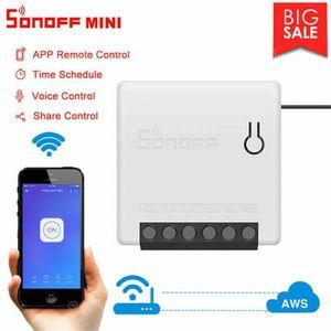 BOITIER - COQUE DE CLÉ Sonoff Mini Wifi DIY Smart Switch Voix APP Télécom