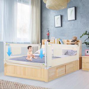 BARRIÈRE DE LIT BÉBÉ  Barrière de Lit Pour Enfants Portable Barrière de