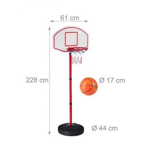 27293a08210cd PANIER DE BASKET-BALL Panier de basketball enfants 210 cm