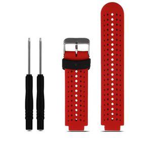 MONTRE Remplacement silicone souple bracelet bande pour G