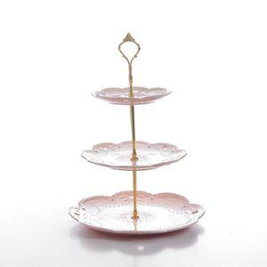miroir de base strass monté lumière Grand VERRE CRISTAL wedding cake stand