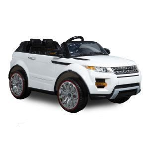 voiture lectrique 2 places 4 x 4 12v style evoque blanche achat vente voiture enfant. Black Bedroom Furniture Sets. Home Design Ideas