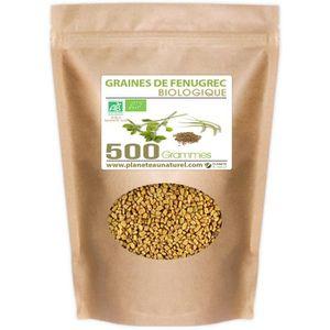 DIGESTION - TRANSIT  Graines de Fenugrec Bio - 500g