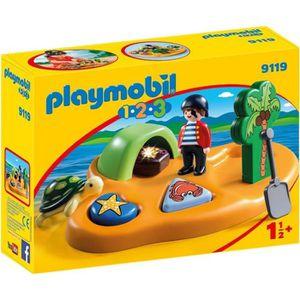 UNIVERS MINIATURE PLAYMOBIL 9119 - PLAYMOBIL 1.2.3 - Île de Pirate