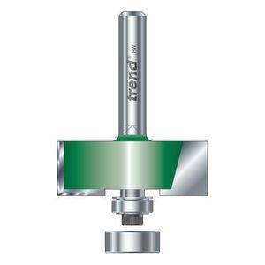 FRAISE - MEULE A TIGE Fraise à feuillures - 31,8mm de diamètre x 15,9mm