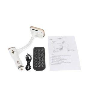 COQUE MP3-MP4 Kit main-libre de Voiture Bluetooth Transmetteur F