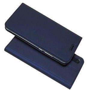 HOUSSE - ÉTUI Huawei P20 Lite Coque Magnetic Stand PU Étui en cu