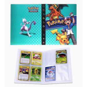 Classeur Carte Pokemon Album Peut Accueillir 80 Cartes A Unique Ou 160 Cartes A Double Black Album Pour Cartes Pokemon Gx Porte Carte Pokemon Albums