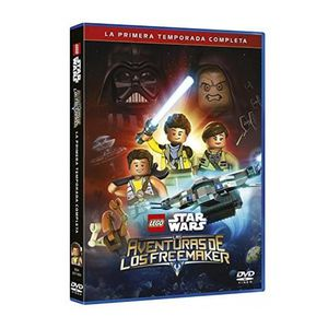 DVD FILM LEGO STAR WARS: LAS AVENTURAS DE LOS FREEMAKERS (I