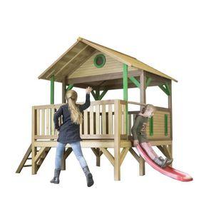 MAISONNETTE EXTÉRIEURE AXI maison enfant exterieur en bois Meeko