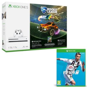 CONSOLE XBOX Xbox One S 1 To Rocket League + Fifa 19