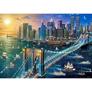 CASSE-TÊTE Castorland Puzzle 500 Pièces - New York - Brooklyn