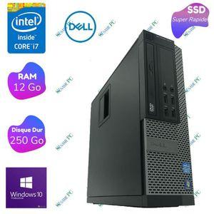 CLIENT LÉGER Dell Optiplex 7010 - Intel Core i7 3770 - RAM 12 G