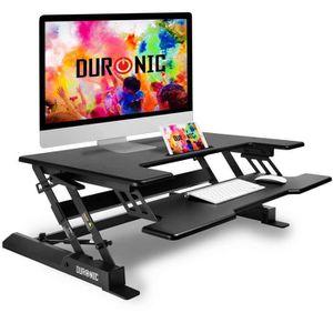 35/″ NB FC35 BLK Support ergonomique ajustable pour travail assis-debout pour clavier et /écran PC22/″